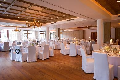 Banqueting area